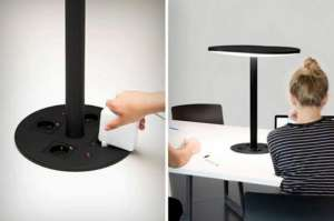 与法国厂商携手,瑞士一研究生设计出Lifi台灯海林